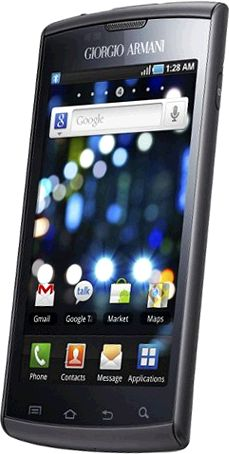 foto del cellulare Samsung Galaxy S Giorgio Armani
