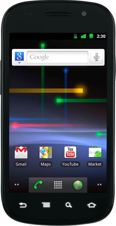 foto Samsung Nexus S