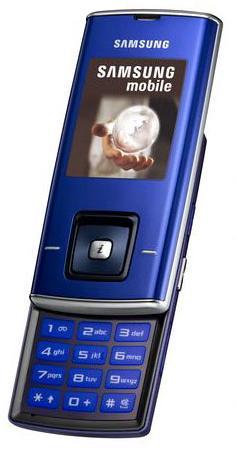 foto del cellulare Samsung J600