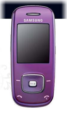 foto del cellulare Samsung L600