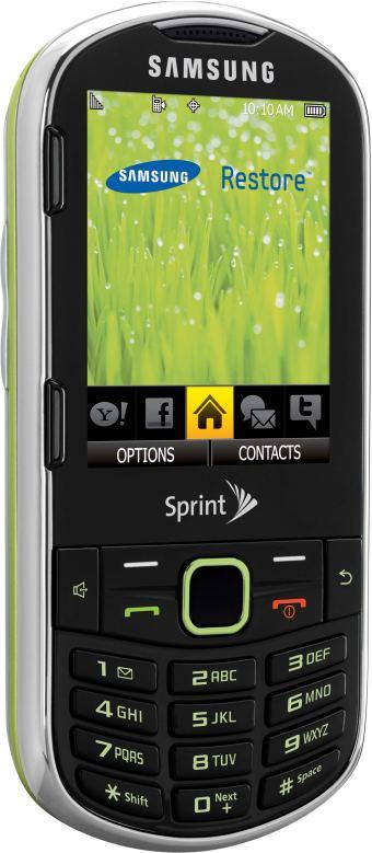 foto del cellulare Samsung Restore