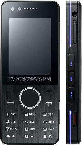 foto del cellulare Samsung Emporio Armani M7500