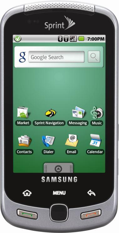 foto del cellulare Samsung M900 Moment