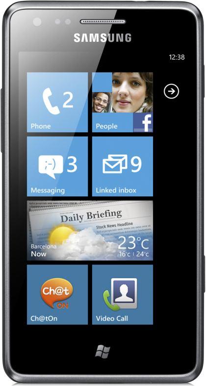 foto del cellulare Samsung Omnia M