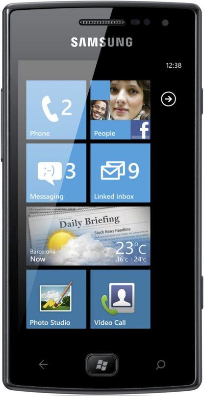 foto del cellulare Samsung Omnia W