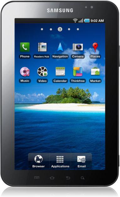foto scheda Samsung Galaxy Tab