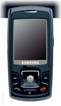 foto del cellulare Samsung P260