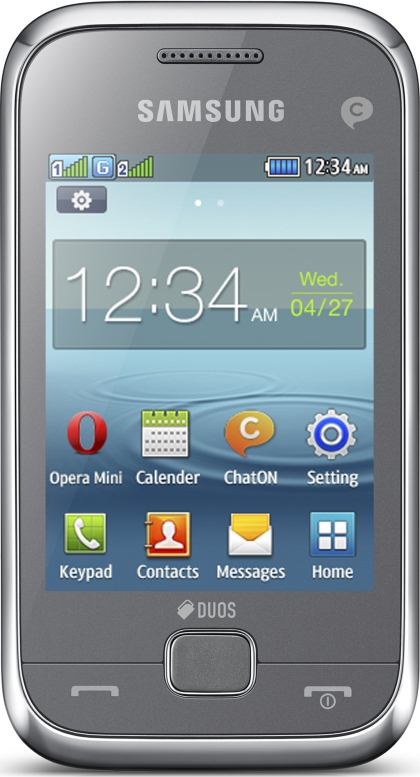 foto del cellulare Samsung Rex 60