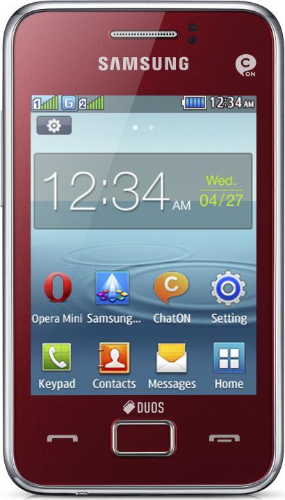 foto del cellulare Samsung Rex 80