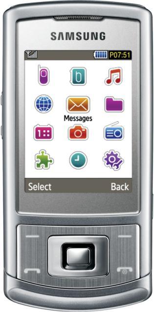 foto del cellulare Samsung S3500