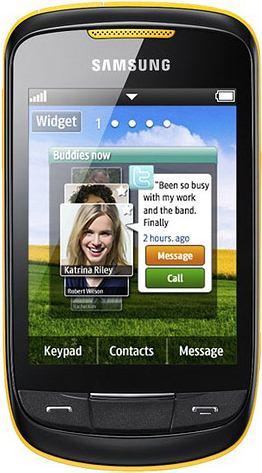 foto del cellulare Samsung Corby 2