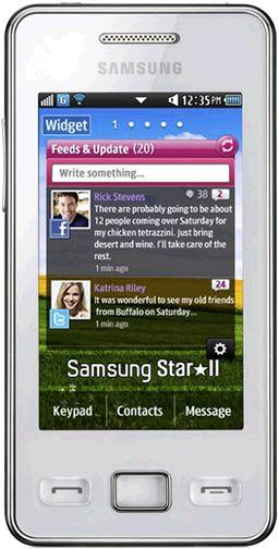 foto del cellulare Samsung Star II