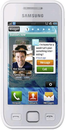 foto del cellulare Samsung Wave 575