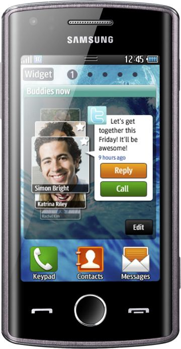 foto del cellulare Samsung Wave 578