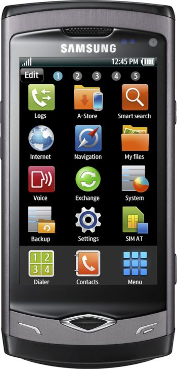 foto del cellulare Samsung Wave