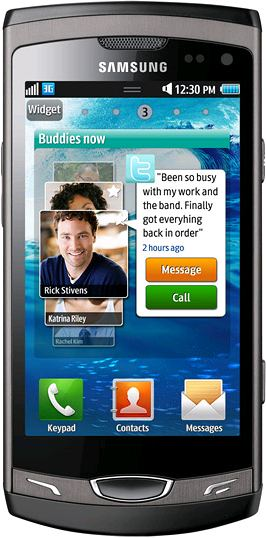 foto del cellulare Samsung Wave II