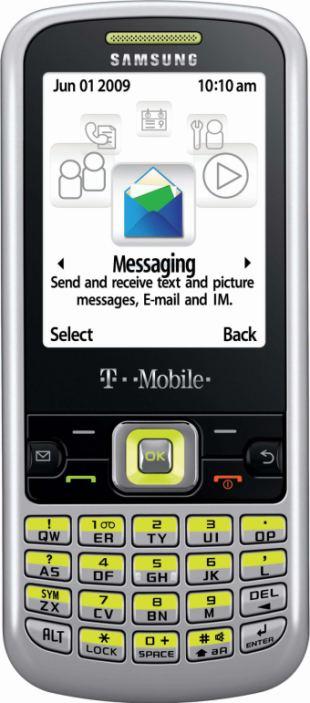 foto del cellulare Samsung T349