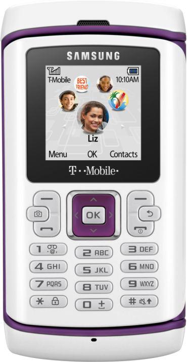 foto del cellulare Samsung T559 Comeback