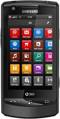foto del cellulare Samsung Vodafone 360 M1