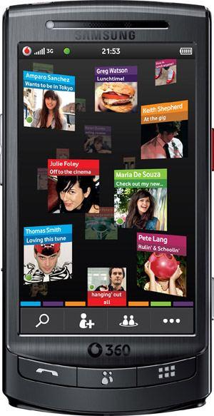 foto del cellulare Samsung Vodafone 360 H1