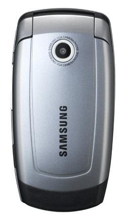 foto del cellulare Samsung X510