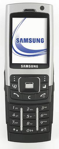 foto del cellulare Samsung Z550