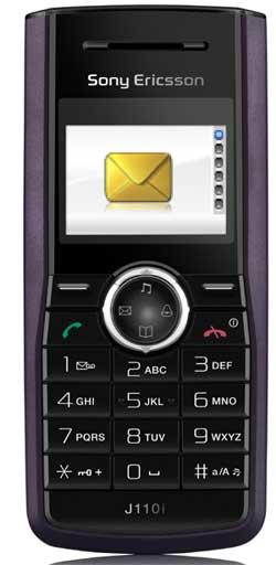 foto del cellulare Sony Ericsson J110i