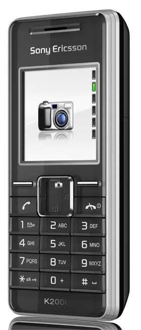 foto del cellulare Sony Ericsson K200i