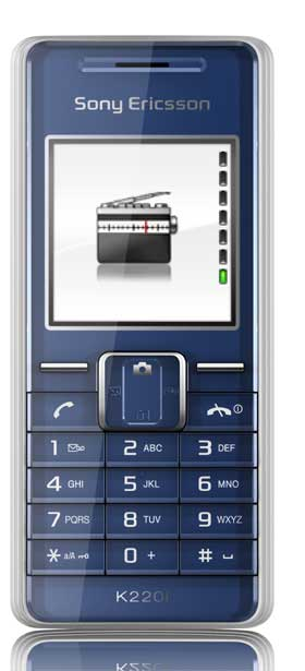 foto del cellulare Sony Ericsson K220i