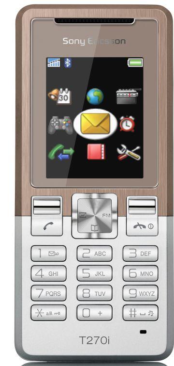 foto del cellulare Sony Ericsson T270i