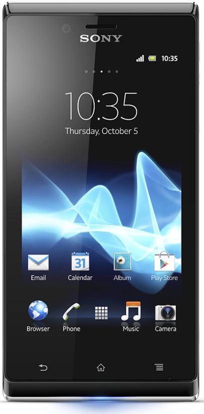 foto del cellulare Sony Xperia J