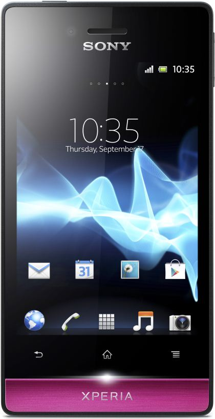 foto del cellulare Sony Xperia Miro