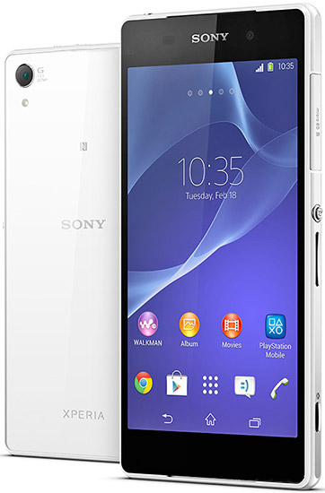 foto del cellulare Sony Xperia Z2