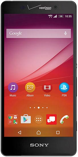 foto del cellulare Sony Xperia Z4v