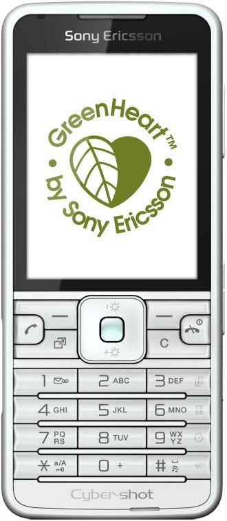 foto del cellulare Sony Ericsson C901 GreenHeart