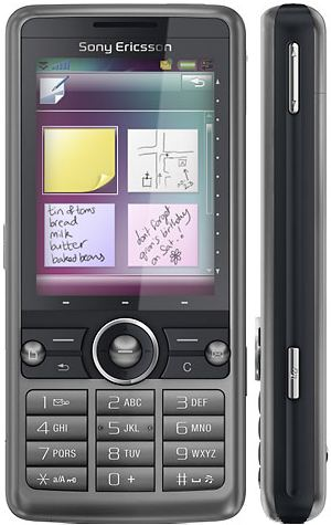 foto del cellulare Sony Ericsson G700 Business Edition