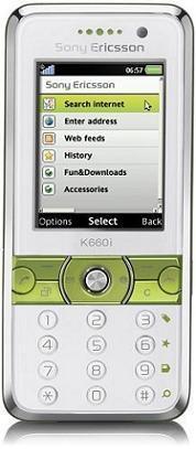 foto del cellulare Sony Ericsson K660i
