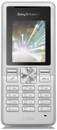 foto del cellulare Sony Ericsson T250i