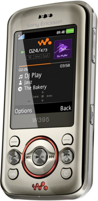 foto del cellulare Sony Ericsson W395