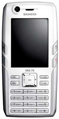 foto del cellulare Siemens SXG 75