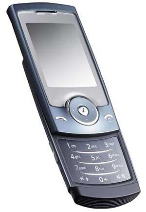 foto del cellulare Samsung U600