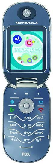 foto del cellulare Motorola Pebl U6
