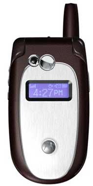 foto del cellulare Motorola V547