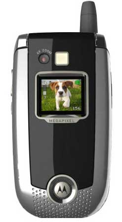 foto del cellulare Motorola V635