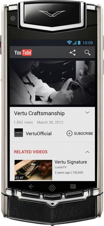 foto del cellulare Vertu Ti