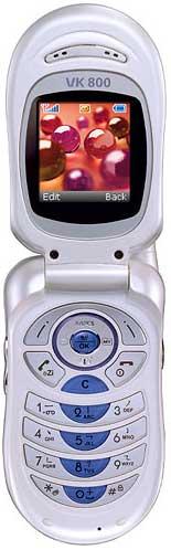 foto del cellulare VK 800