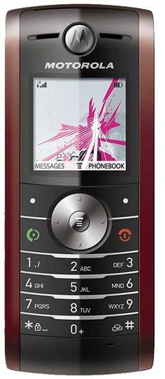 foto del cellulare Motorola W208