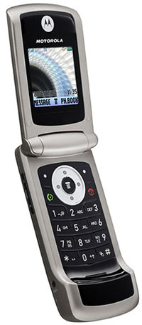 foto del cellulare Motorola W220