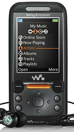 foto del cellulare Sony Ericsson W830i