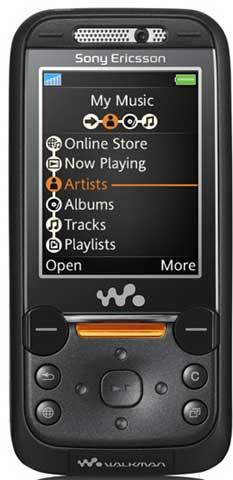 foto del cellulare Sony Ericsson W850